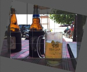 Photoshopで傾いた被写体をまっすぐに補正する方法解説